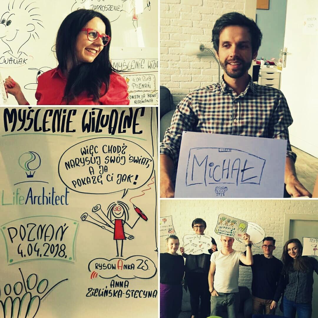 Zespół Life Architect myśli wizualnie! 8